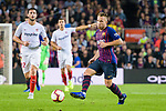 Arthur Melo of FC Barcelona in action during the La Liga 2018-19 match between FC Barcelona and Sevilla FC at Camp Nou Stadium on October 20 2018 in Barcelona, Spain. Photo by Vicens Gimenez / Power Sport Images
