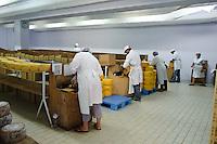 Käserei (Uniao de Cooperativa Agricolas de Lacticinios) in Beira auf der Insel Sao Jorge, Azoren, Portugal