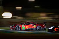 #51 AF Corse Ferrari 488 GTE EVO LMGTE Pro, Alessandro Pier Guidi, James Calado, Come Ledogar, 24 Hours of Le Mans , Free Practice 2, Circuit des 24 Heures, Le Mans, Pays da Loire, France