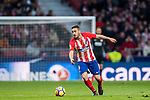Jorge Resurrection Merodio, Koke, of Atletico de Madrid in action during the La Liga 2017-18 match between Atletico de Madrid and Girona FC at Wanda Metropolitano on 20 January 2018 in Madrid, Spain. Photo by Diego Gonzalez / Power Sport Images