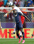 Atletico de Madrid's Jackson Martinez (d) and SL Benfica's Jardel during Champions League 2015/2016 match. September 30,2015. (ALTERPHOTOS/Acero)