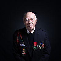 At age 18, Herman Zeitchik was among the 4th Infantry Division soldiers who landed at Utah Beach early on the morning of June 6, 1944. He helped liberate Paris, hold back the Nazis at the Battle of the Bulge, and free starving prisoners at the Dachau Concentration Camp. Herman is a Knight in the French Legion of Honor. He is married to the love of his life, Janet, and has two daughters, Linda and Carol.