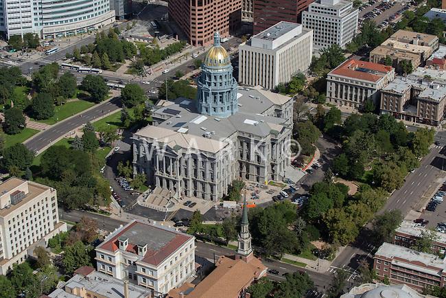 Colorado State Capitol Building; Denver.  Aug 20, 2014. 812873