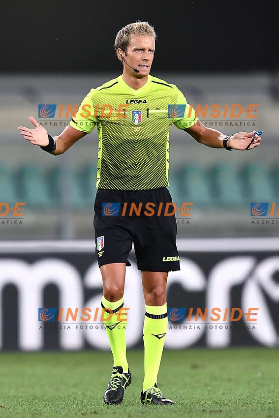 Daniele Chiffi <br /> Serie A football match between Hellas Verona and AS Roma at Marcantonio Bentegodi Stadium in Verona (Italy), September 19th, 2020. Photo Image Sport / Insidefoto
