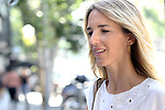Cayetana Alvarez de Toledo, the spokeswoman of Partido Popular at the headquarters of the PP before the meeting of the Steering Committee on September 3, 2019 in Madrid, Spain.(ALTERPHOTOS/ItahisaHernandez)
