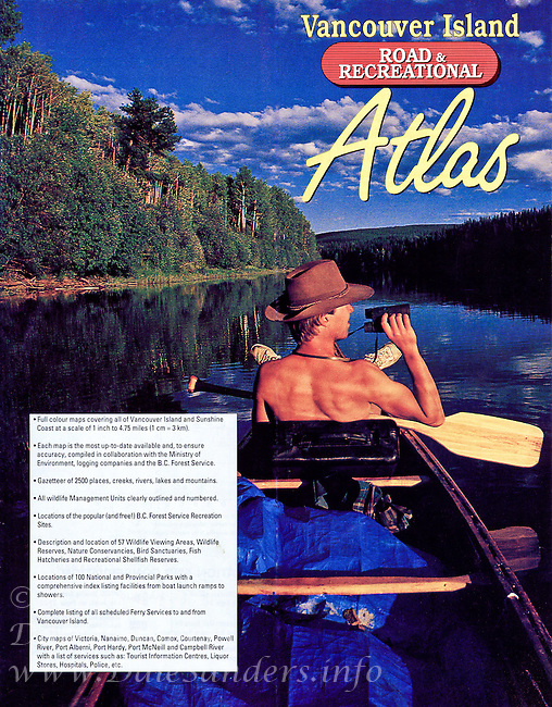 Cover of Vancouver Island Road & Recreational Atlas.