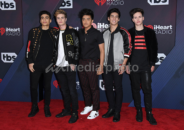 11 March 2018 - Inglewood, California - In Real Life. 2018 iHeart Radio Awards held at The Forum. Photo Credit: Birdie Thompson/AdMedia
