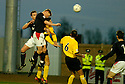 18/12/2004  Copyright Pic : James Stewart.File Name : jspa01_falkirk_v_qots.DANIEL MCBREEN HEADS HOME FALKIRK'S THIRD.......Payments to :.James Stewart Photo Agency 19 Carronlea Drive, Falkirk. FK2 8DN      Vat Reg No. 607 6932 25.Office     : +44 (0)1324 570906     .Mobile   : +44 (0)7721 416997.Fax         : +44 (0)1324 570906.E-mail  :  jim@jspa.co.uk.If you require further information then contact Jim Stewart on any of the numbers above.........