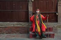 The Sadhus at Durbar Square Area Kathmandu