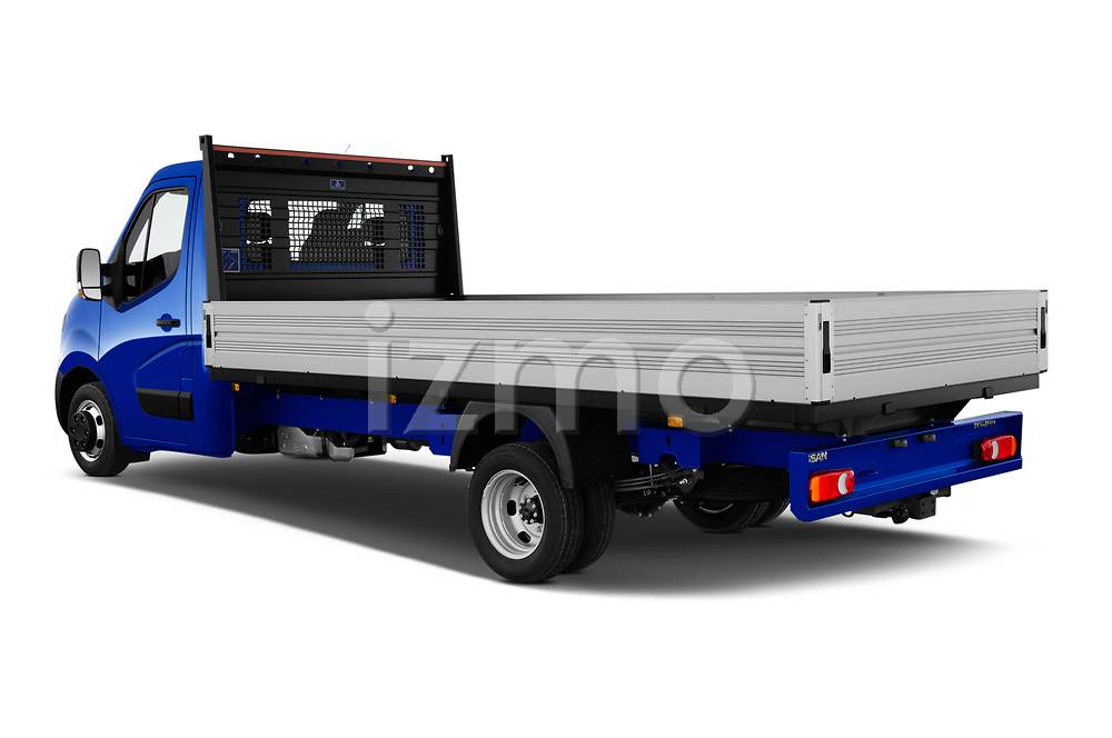 Car pictures of rear three quarter view of 2021 Nissan NV400 Acenta 2 Door Chassis Cab Angular Rear