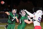 Chino Hills quarterback throws under pressure