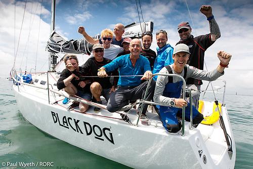 Stuart Sawyer's J/122 Black Dog