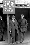 Southall weekly Wednesday Horse market London 1983. <br />