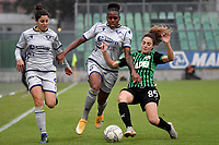 Vanessa H. Susanna of Hellas Verona and Maria Luisa Filangeri of Sassuolo compete for the ball during the women Serie A football match between US Sassuolo and Hellas Verona at Enzo Ricci stadium in Sassuolo (Italy), November 15th, 2020. Photo Andrea Staccioli / Insidefoto