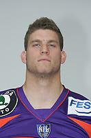 Defensive End Ulrich Winkler (Frankfurt Galaxy)
