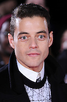 """Rami Malek<br /> at the """"Lost City of Z"""" premiere held at the British Museum, London.<br /> <br /> <br /> ©Ash Knotek  D3229  16/02/2017"""