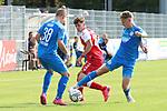 Maik Goss (Nr.2, FC Astoria Walldorf) am Ball beim Spiel, FC Astoria Walldorf - SC Freiburg II.<br /> <br /> Foto © PIX-Sportfotos *** Foto ist honorarpflichtig! *** Auf Anfrage in hoeherer Qualitaet/Aufloesung. Belegexemplar erbeten. Veroeffentlichung ausschliesslich fuer journalistisch-publizistische Zwecke. For editorial use only. DFL regulations prohibit any use of photographs as image sequences and/or quasi-video.