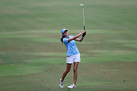 CHAPEL HILL, NC - OCTOBER 13: Kayla Smith of the University of North Carolina at UNC Finley Golf Course on October 13, 2019 in Chapel Hill, North Carolina.