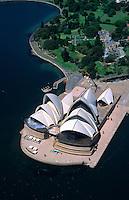 Sydney, Australia. Opera House aerial.
