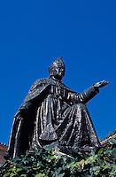 Spanien, Mallorca, Denkmal von Bispe Campins im Kloster Lluc
