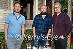 Enjoying the evening in Molly J's on Friday, l to r: Adrian Gurnett, Kevin Kearney and Thomas Locke.