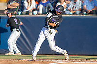 University of Washington Huskies AJ Graffanino (11) at bat against the Cal State Fullerton Titans at Goodwin Field on June 10, 2018 in Fullerton, California. The Huskies defeated the Titans 6-5. (Donn Parris/Four Seam Images)