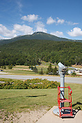 Mount Washington Valley - Mount Washington from Pinkham Notch in Green's Grant, New Hampshire USA.