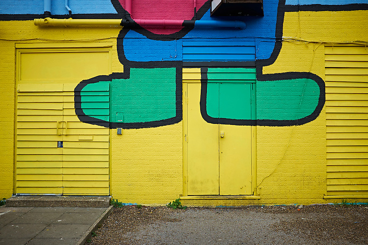 © John Angerson<br /> 151116<br /> Hackney Wick and Stratford areas including olympic park. Tower Hamlets.