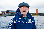 Christy Leahy enjoying a stroll in the Tralee Bay Wetlands on Thursday