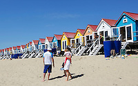 Strandhuisjes in Vlissingen