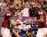 Troy downs Ohio University 48-21 in the 10th annual R&L Carriers New Orleans Bowl played in the Louisiana Superdome.