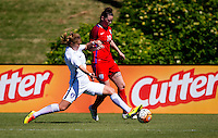 Carson, CA - September 18, 2016: The England U-20 and South Korea U-20 played to 0-0 draw as England advances on to win the 2016 Under-20 Women's NTC Invitational at StubHub Center.