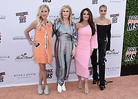 PASADENA, CA - JUNE 4:  Sutton Stracke, Kathy Hilton, Kyle Richards and Dorit Kemsley at the 28th Annual Race to Erase MS Drive-In Gala at The Rose Bowl in Pasadena, Friday, June 4, 2021 (Photo by Scott Kirkland/PictureGroup)
