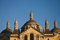 Europe/France/Aquitaine/24/Dordogne/Périgueux: La cathédrale Saint-Front, et ses coupoles- étape sur le chemin de Compostelle, site classé Patrimoine Mondial de l'UNESCO