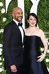 NEW YORK, NY - JUNE 11:  Keegan-Michael Key and Elisa Pugliese attend the 71st Annual Tony Awards at Radio City Music Hall on June 11, 2017 in New York City.  (Photo by Walter McBride/WireImage)
