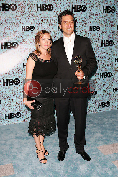 Ray Romano and wife Anna<br />At the HBO Emmy After Party. Pacific Design Center,Los Angeles, CA. 09-18-05<br />Dave Edwards/DailyCeleb.Com 818-249-4998