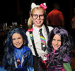 From left: Kate, Blair and Kara Going at the M.D. Anderson Halloween party at The Galleria Sunday Oct 25, 2015.(Dave Rossman photo)