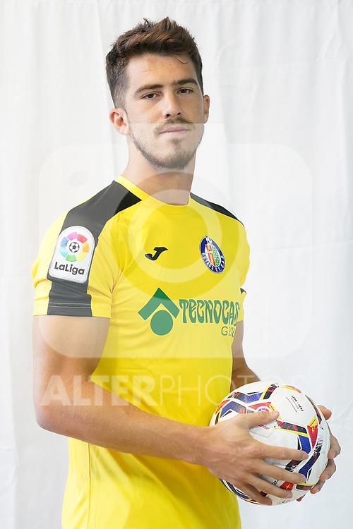 Getafe CF's Ruben Yanez during official photo session. September 11, 2020. (ALTERPHOTOS/Acero)