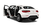 Car images close up view of a 2018 Mercedes Benz GLC Coupe base 5 Door SUV doors