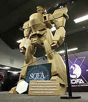 BOGOTÁ - COLOMBIA, 14-10-2019:Finalizó Sofa 2019,Salón del Ocio y la Fantasia en Corferias .Miles de personas fanáticos del Cospaly se hicieron presentes./ Sofa 2019, Hall of Leisure and Fantasy in Corferias finished. Thousands of Cospaly fans were present. Photo: VizzorImage / Felipe Caicedo / Satff