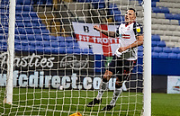 Bolton Wanderers' Antoni Sarcevic celebrates scoring his side's first goal <br /> <br /> Photographer Andrew Kearns/CameraSport<br /> <br /> The EFL Sky Bet League Two - Bolton Wanderers v Mansfield Town - Tuesday 3rd November 2020 - University of Bolton Stadium - Bolton<br /> <br /> World Copyright © 2020 CameraSport. All rights reserved. 43 Linden Ave. Countesthorpe. Leicester. England. LE8 5PG - Tel: +44 (0) 116 277 4147 - admin@camerasport.com - www.camerasport.com
