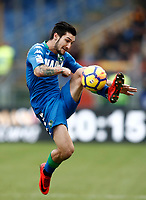 Calcio, Serie A: AS Roma - Sassuolo, Roma, stadio Olimpico, 30 dicembre 2017.<br /> Sassuolo's Matteo Politano in action during the Italian Serie A football match between AS Roma and Sassuolo at Rome's Olympic stadium, 30 December 2017.<br /> UPDATE IMAGES PRESS/Isabella Bonotto