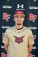 Angel Vazquez during the Under Armour All-America Tournament powered by Baseball Factory on January 17, 2020 at Sloan Park in Mesa, Arizona.  (Mike Janes/Four Seam Images)