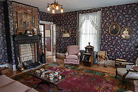 Beckley, West Virginia.  Beckley Exhibition Coal Mine, Superintendent's House Parlor, Sitting Room.