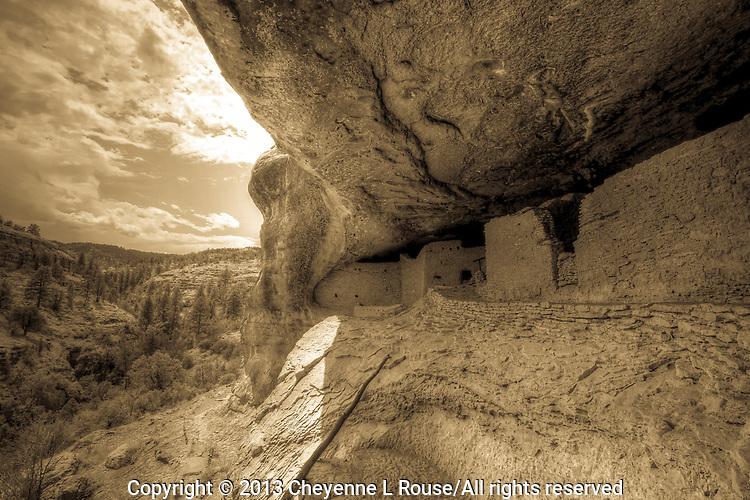 Gila View - Gila Cliff Dwelling - New Mexico