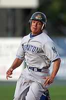 Trenton Thunder Gabe Lopez during an Eastern League game at Jerry Uht Park on August 30, 2006 in Erie, Pennsylvania.  (Mike Janes/Four Seam Images)