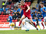 St Johnstone v Aberdeen…15.09.18…   McDiarmid Park     SPFL<br />Sam Cosgrove and Jason Kerr<br />Picture by Graeme Hart. <br />Copyright Perthshire Picture Agency<br />Tel: 01738 623350  Mobile: 07990 594431