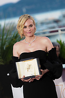 Diane Kruger, who won the award for best actress for her part in the movie 'In The Fade'<br /> Winner's Photocall<br /> Festival de Cannes 2017