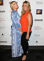 HOLLYWOOD, LOS ANGELES, CA, USA - SEPTEMBER 18: Eden Sassoon, Nicole Fogel arrive at the 'Get Lucky For Lupus' 6th Annual Poker Tournament held at Avalon on September 18, 2014 in Hollywood, Los Angeles, California, United States. (Photo by Celebrity Monitor)