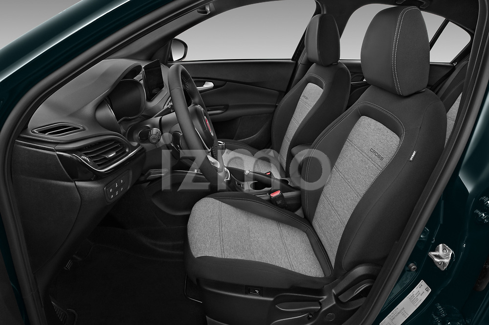 Front seat view of 2021 Fiat Tipo-Cross - 5 Door Hatchback Front Seat  car photos